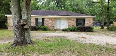 Theodore Single Family Home For Sale: 5509 Pointer Road