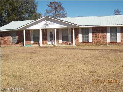 Grand Bay Single Family Home For Sale: 10250 Highway 188