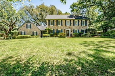 Mobile Single Family Home For Sale: 513 Shenandoah Road W
