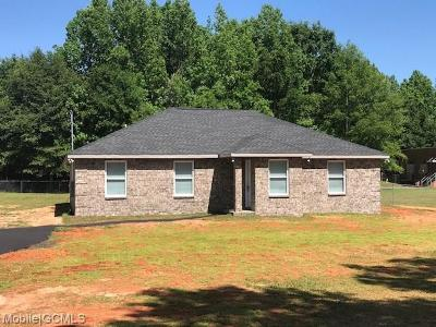 Mobile County Single Family Home For Sale: 8851 McDonald Road