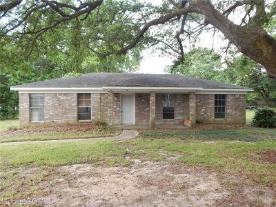 Theodore Single Family Home For Sale: 6551 Sandra Drive