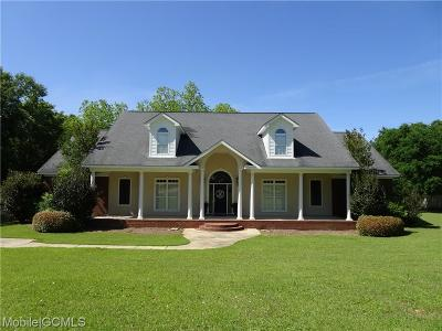 Mobile Single Family Home For Sale: 6420 Three Notch Road