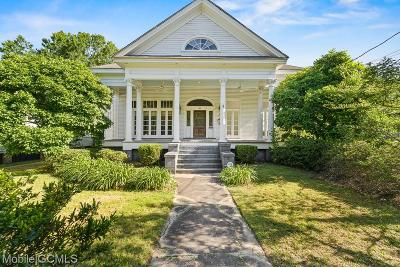 Mobile Single Family Home For Sale: 1318 Dauphin Street