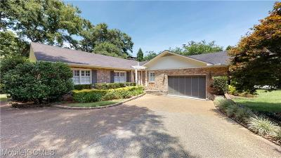 Mobile Single Family Home For Sale: 13 Wimbledon Drive E