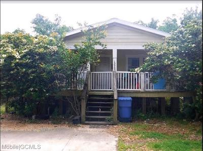 Bayou La Batre Single Family Home For Sale: 13945 Lottie Avenue
