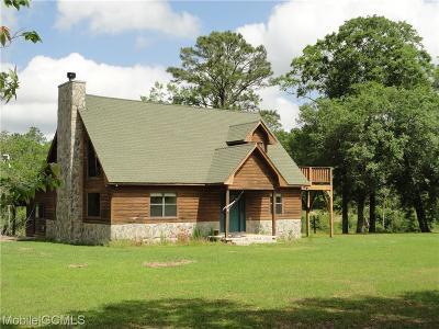 Grand Bay Single Family Home For Sale: 6350 Ranch Road E