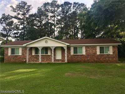 Citronelle Single Family Home For Sale: 19695 Laird Drive