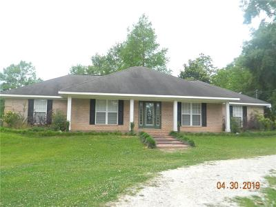 Wilmer Single Family Home For Sale: 12935 Mason Ferry Road