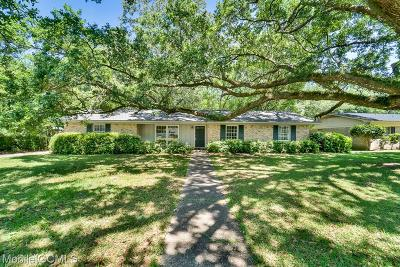 Mobile County Single Family Home For Sale: 1022 Uster Drive