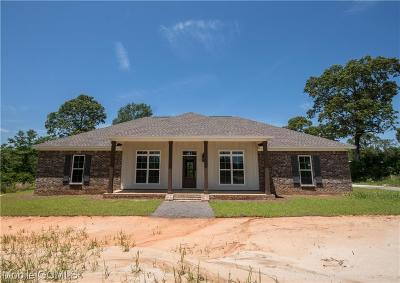 Chunchula Single Family Home For Sale: 4350 Walter Moore Road