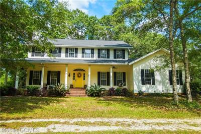 Mobile Single Family Home For Sale: 15115 Private Road 368