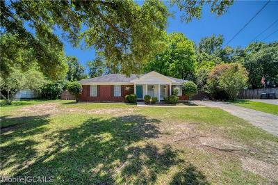 Mobile County Single Family Home For Sale: 8640 McAdams Circle
