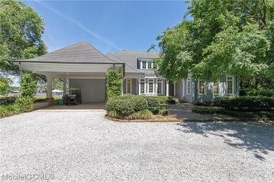 Theodore Single Family Home For Sale: 3480 Dog River Road