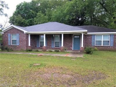 Chickasaw Single Family Home For Sale: 63 Lee Street