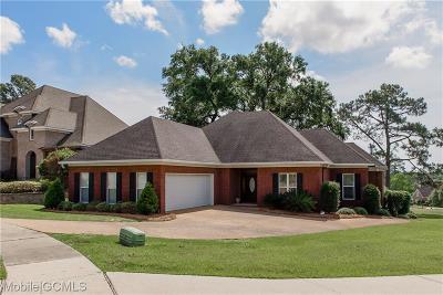 Mobile Single Family Home For Sale: 4195 Blue Heron Ridge