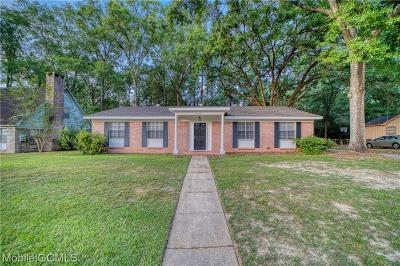 Mobile Single Family Home For Sale: 5055 Druid Drive S