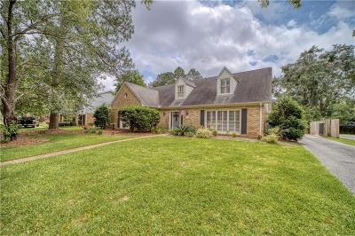 Mobile Single Family Home For Sale: 3755 Claridge Road N