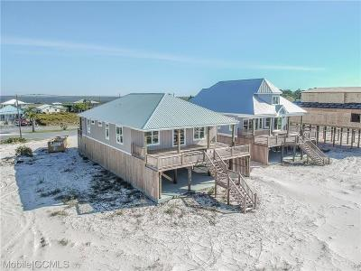 Dauphin Island Single Family Home For Sale: 1813 Bienville Boulevard