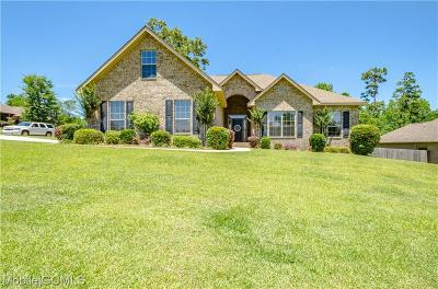 Saraland Single Family Home For Sale: 3438 Charleston Drive