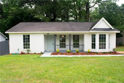 Single Family Home For Sale: 811 Hale Road