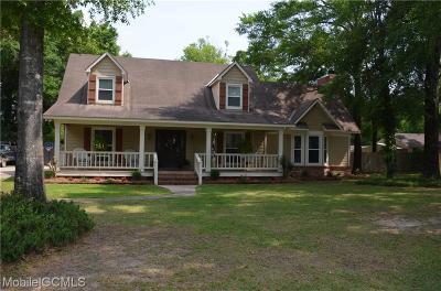 Satsuma Single Family Home For Sale: 609 Vaughn Drive S