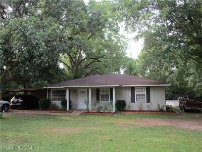 Mobile County Single Family Home For Sale: 8380 Stratford Drive