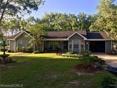 Citronelle Single Family Home For Sale: 10675 Dogwood Drive