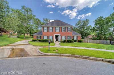 Mobile County Single Family Home For Sale: 2113 Woodford Court