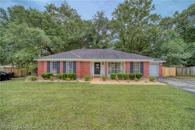 Mobile Single Family Home For Sale: 9435 Lexington Court