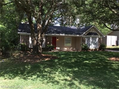 Mobile County Single Family Home For Sale: 753 Hale Road