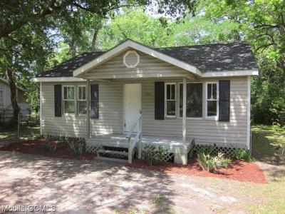 Chickasaw Single Family Home For Sale: 207 Grand Boulevard