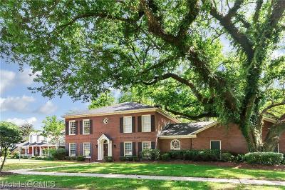 Mobile County Single Family Home For Sale: 4013 Oakbrake Court