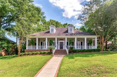 Mobile Single Family Home For Sale: 7011 Charleston Oaks Drive N