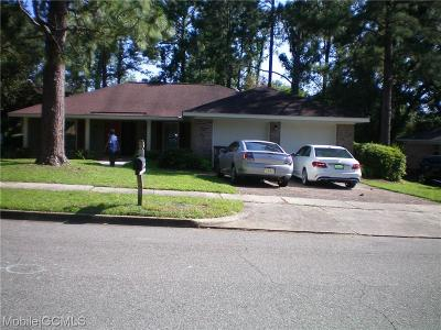 Mobile County Single Family Home For Sale: 6509 Stonemill Run