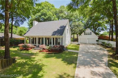 Satsuma Single Family Home For Sale: 6206 Cottonwood Court