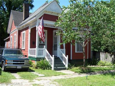 Single Family Home For Sale: 903 Palmetto Street