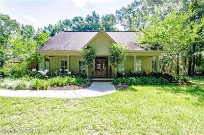 Creola Single Family Home For Sale: 9653 Chelginet Lane