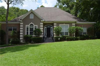 Mobile County Single Family Home For Sale: 7530 Brockton Court