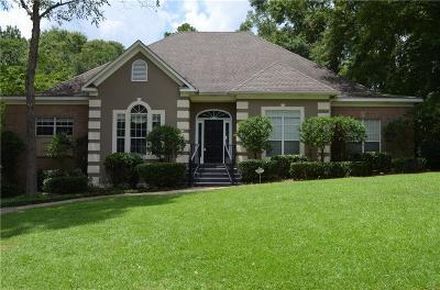 Mobile Single Family Home For Sale: 7530 Brockton Court
