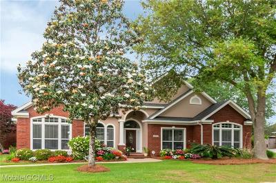 Mobile County Single Family Home For Sale: 3218 Wynnfield Drive W