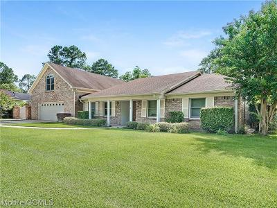 Mobile County Single Family Home For Sale: 154 Holyhead Drive