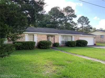 Chickasaw Single Family Home For Sale: 166 Mauvilla Drive E