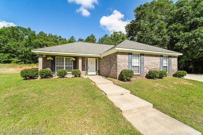 Semmes Single Family Home For Sale: 1525 Eunice Drive