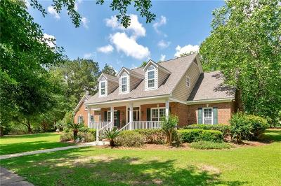 Mobile County Single Family Home For Sale: 3920 Lakefront Drive