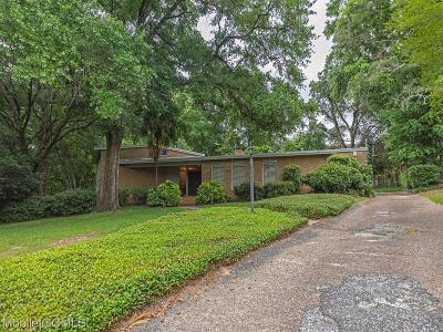 Mobile Single Family Home For Sale: 3651 Chelsea Drive S