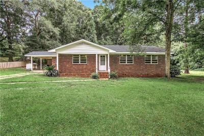 Wilmer Single Family Home For Sale: 14485 Tanner Williams Road
