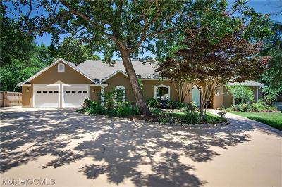 Theodore Single Family Home For Sale: 3136 Cumberland Road #PVT