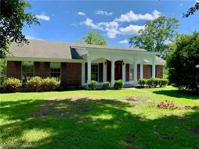 Grand Bay Single Family Home For Sale: 12411 Homestead Avenue