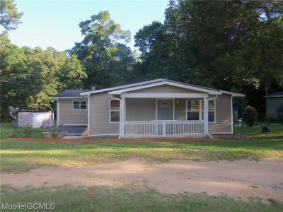Citronelle Single Family Home For Sale: 7655 Coy Smith Highway