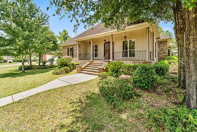 Mobile Single Family Home For Sale: 9940 Turtle Creek Lane S